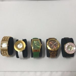 5 PC JOAN RIVERS WATCHES